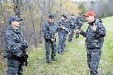 Poslanci Štajerski vardi slekli uniforme