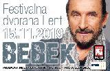 Koncert leta: 15.11.2019 Željko Bebek & Band!