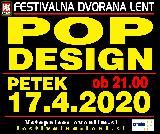 Tradicionalni žur s Pop designi v petek, 17.aprila