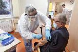 V tem tednu cepljenje starejših od 50 let