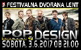 Začetek poletja na Lentu: POP DESIGN, koncert