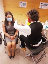 Ministrica navkljub cepljenju pozitivna