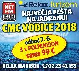 Posebej za poslušalce NET FM:  Vodice 99 eurov