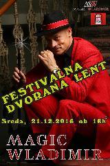 Božični Magični kabaret z Wladimirjem